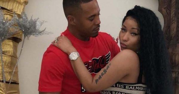 Nicki Minaj and Kenneth 'Zoo' Petty