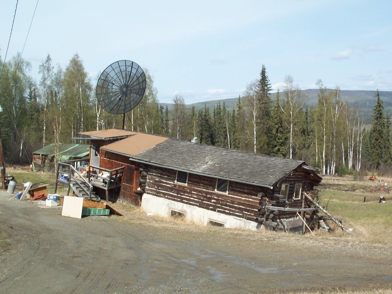 permafrost thaw building