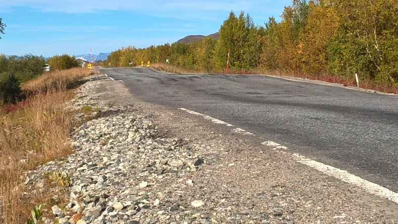 permafrost thaw road
