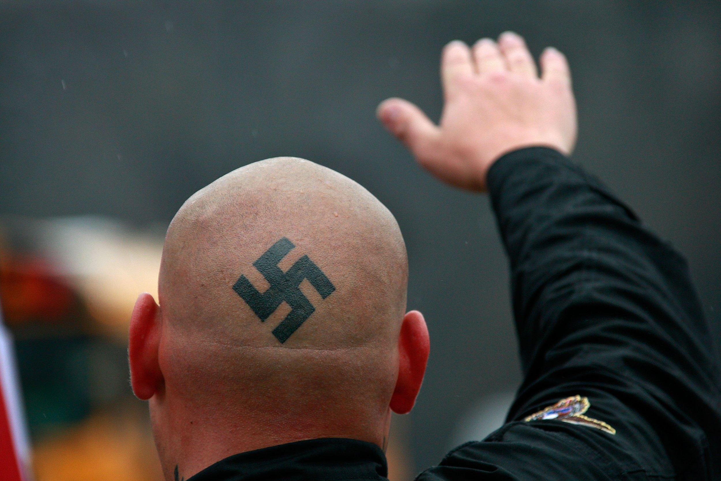 neo nazi attack