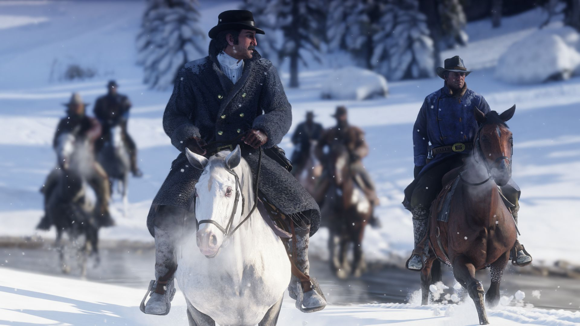 Red Dead Redemption 2 104 horses