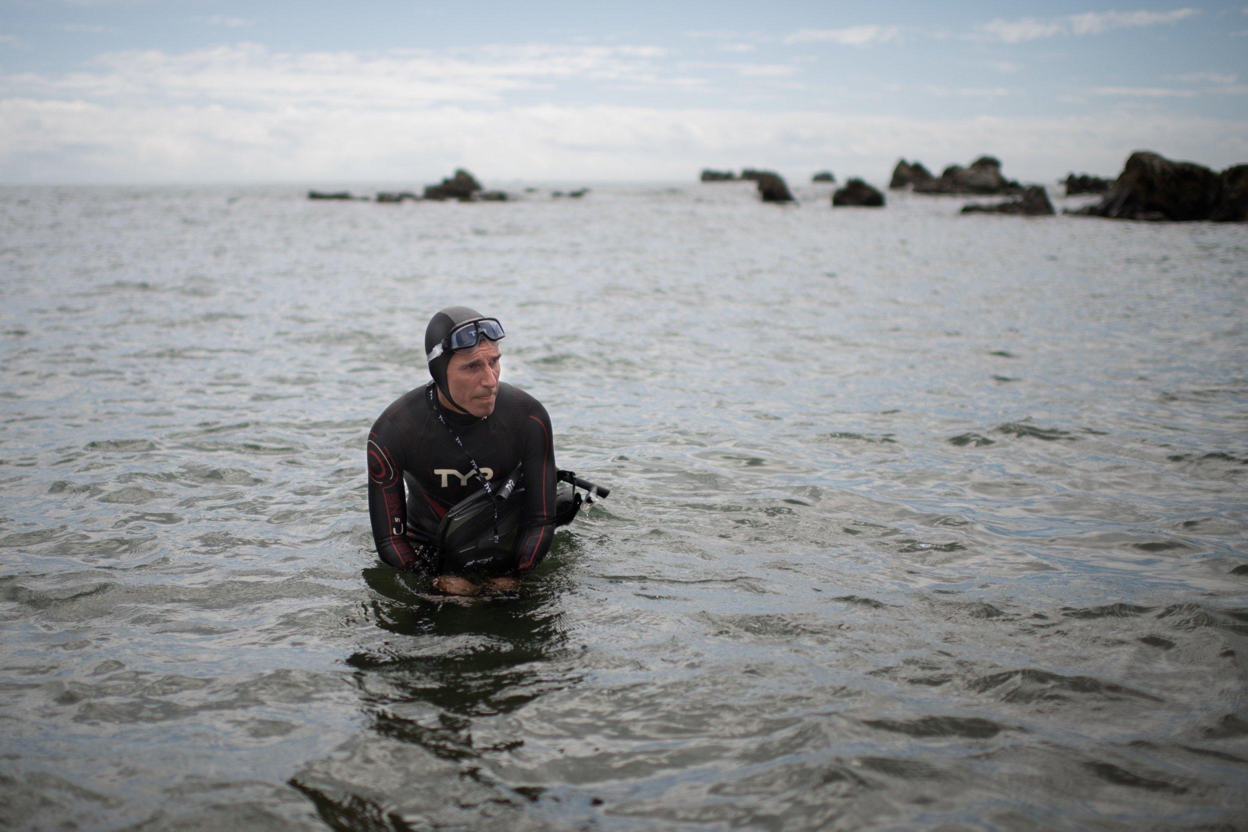 Benoit Lecomte, The Swim