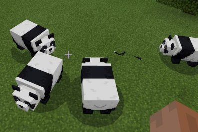 minecraft-pandas