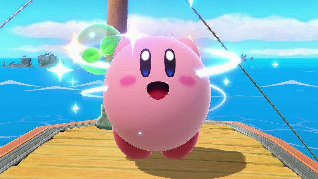 super smash bros ultimate kirby taunt