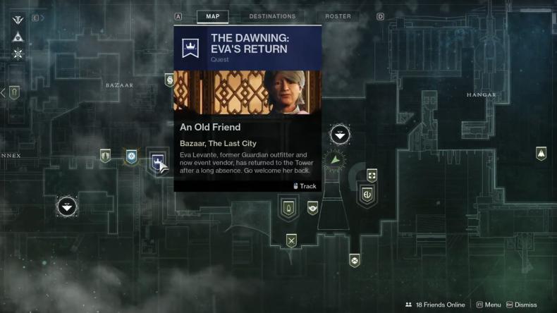 Destiny 2 Eva location