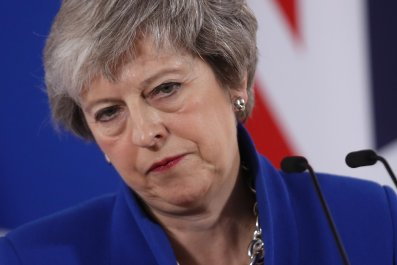 Theresa May Brexit leadership challenge Conservative Party