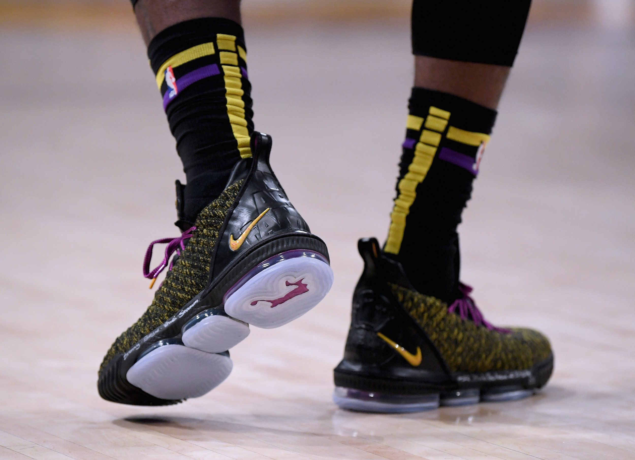 51e2d36cb2325 How Much Are LeBron Game-worn Shoes Worth  NBA Team Employee Turns ...