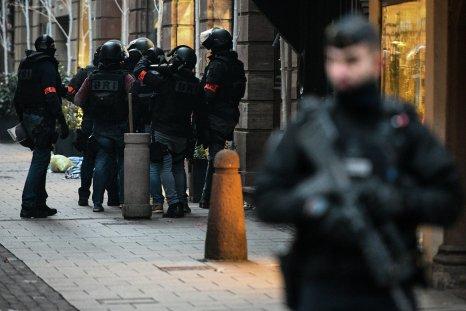 Strasbourg christmas market shooting police