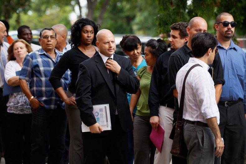 job fair recession