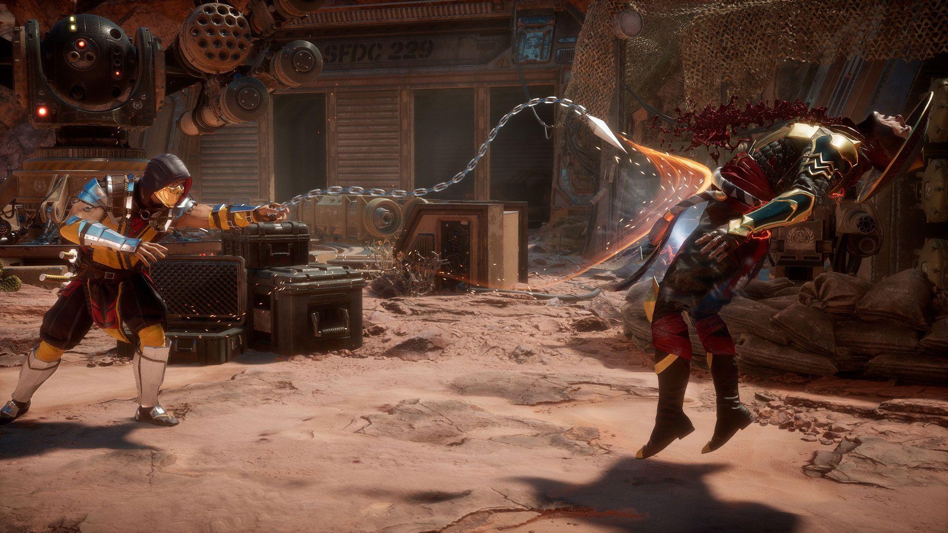 mortal-kombat-11 scorpion dark raiden