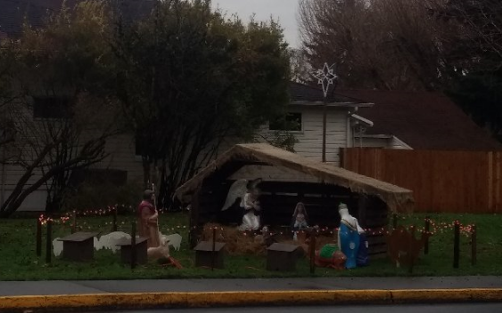 woodland, washington nativity scene