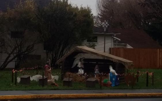 woodland, washington nativity scene
