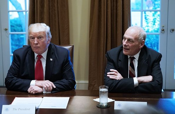 trump and john kelly