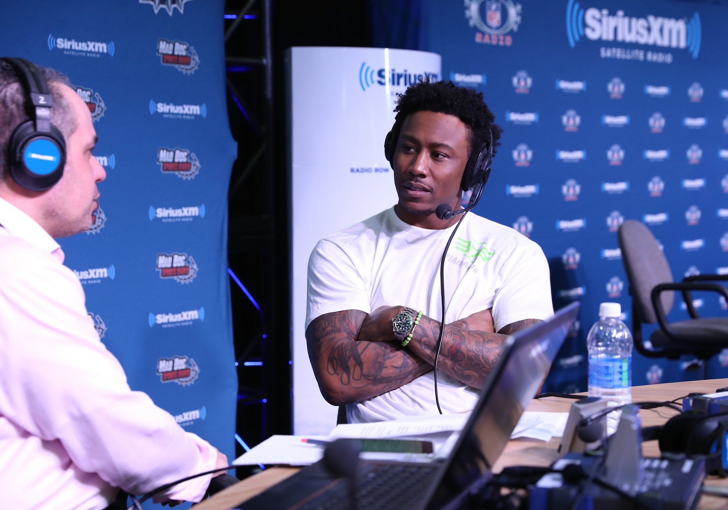 huge selection of 70662 3848f Brandon Marshall Released: Saints Waive Veteran Wide ...