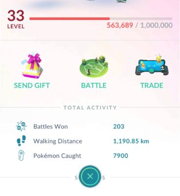 Pokemon go Battle Icon small