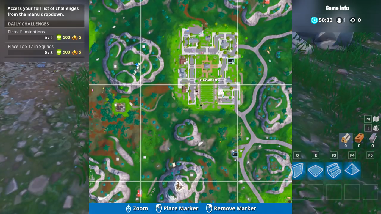 Fortnite Play Sheet Music On The Pianos Near Pleasant Park