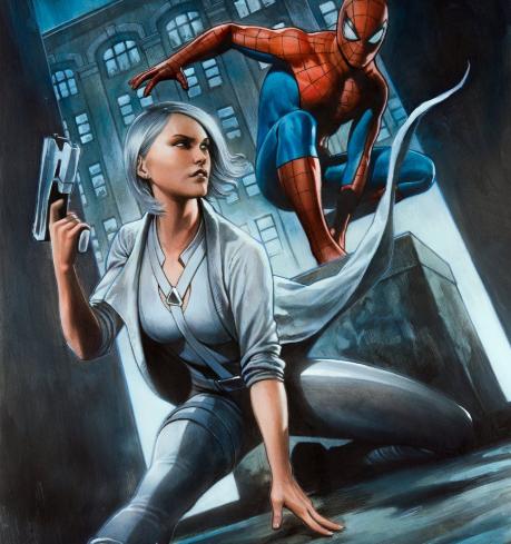 spiderman silver lining art 2