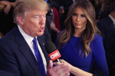 melania trump, fox news, tv, donald, hannity