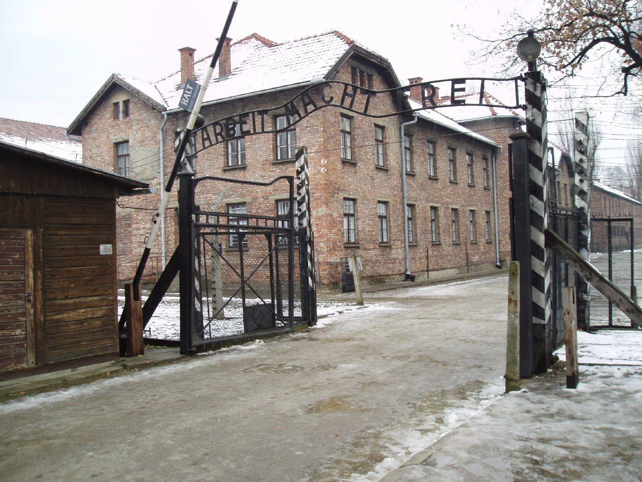 Auschwitz Sign
