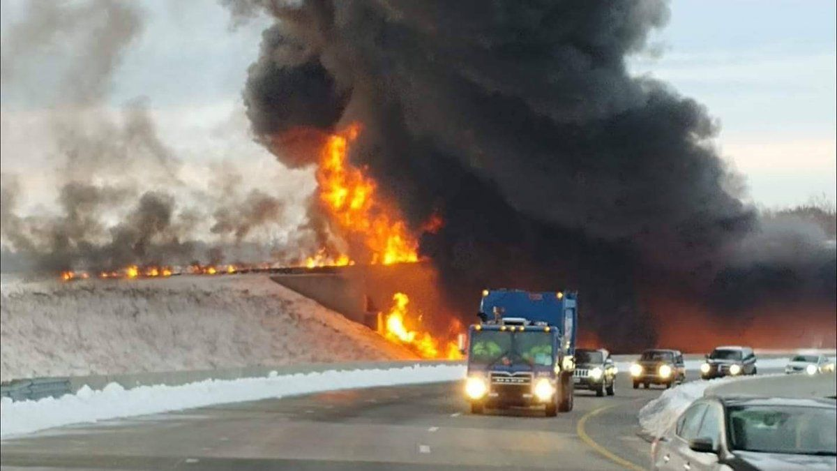 greenboro fire i-85, i-73