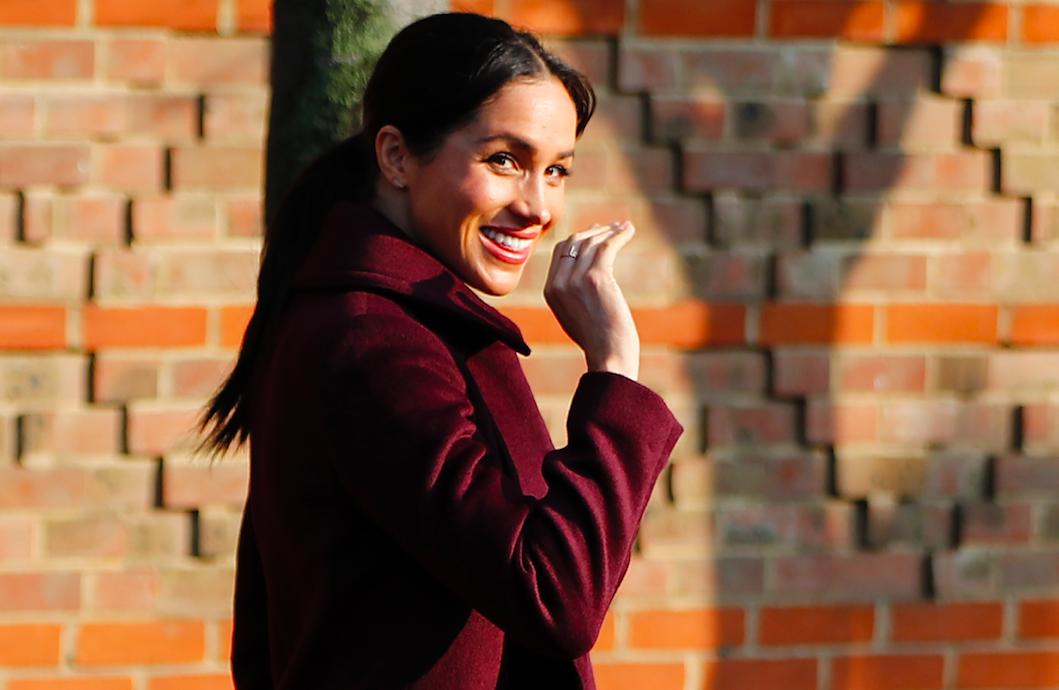 Meghan Markle Pregnant Feels Baby Kick