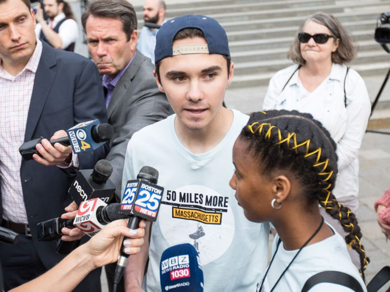 David Hogg Sends 'Thoughts and Prayers' to NRA After Maria