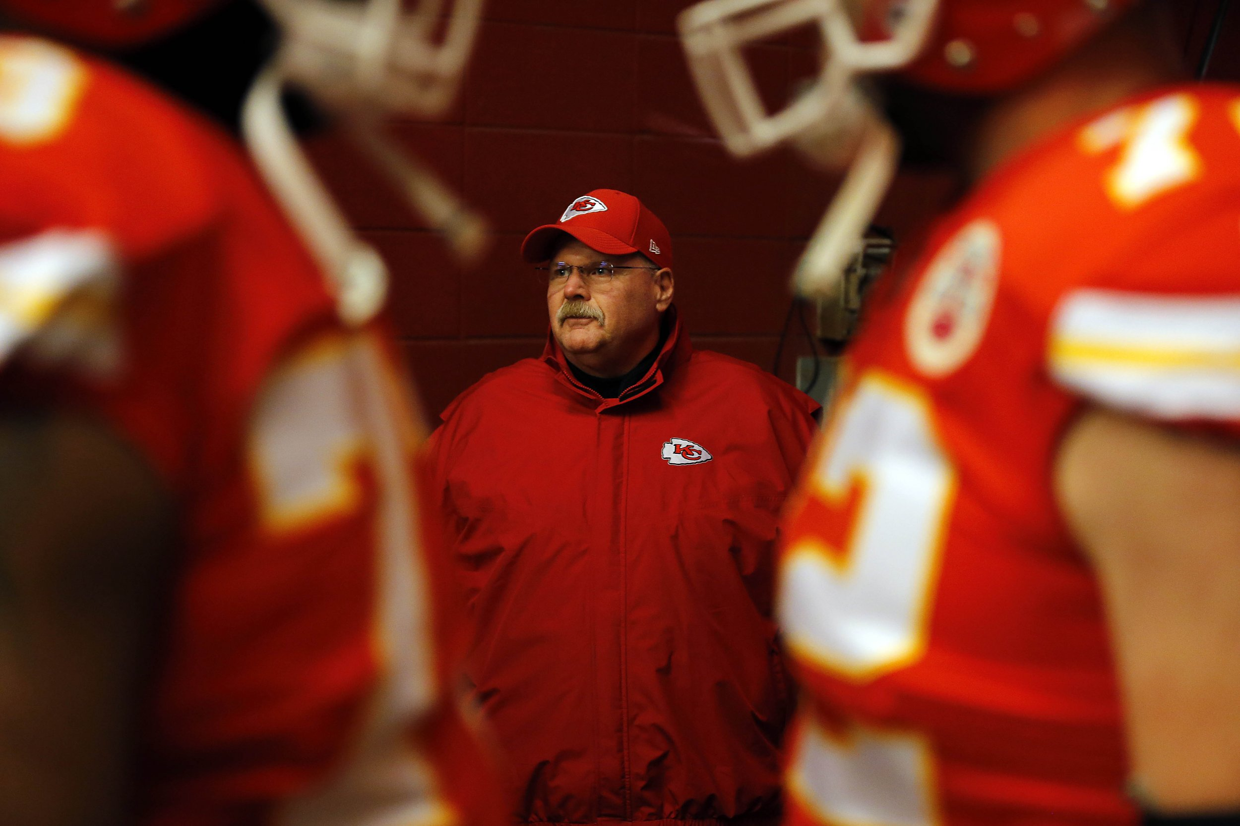 Strange Andy Reid Roasted On Twitter After Chiefs Blow 14 Point Lead Bralicious Painted Fabric Chair Ideas Braliciousco