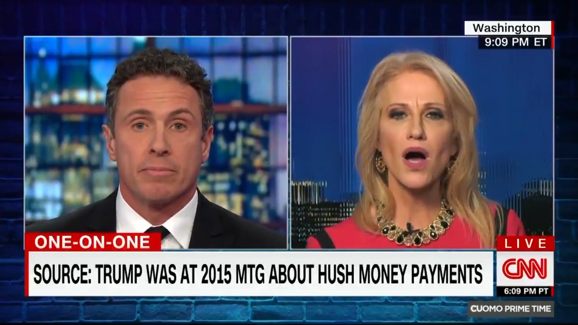 Conway and Cuomo heated exchange