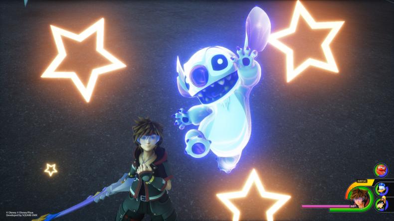 Kingdom Hearts 3 stitch