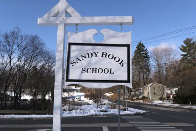 sandy hook elementary school evacuated anniversary
