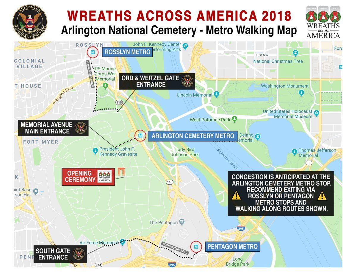 Wreaths Across America: What Is It? Routes, Map, Times for Ceremony ...
