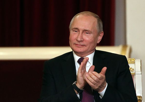 """Russian President Vladimir Putin said that listening to rap music is """"a path to the degradation of the nation."""""""