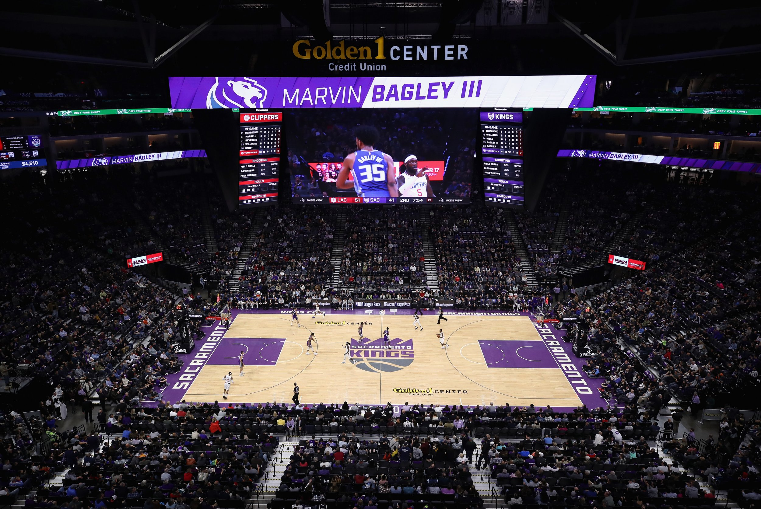 Golden 1 Center, Sacramento Kings