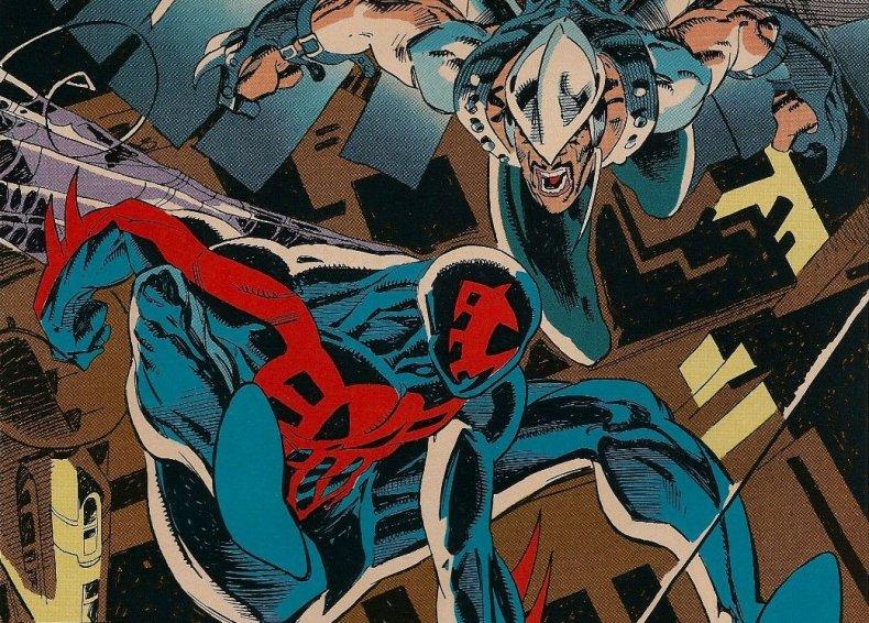 spider man 2099 into spider verse sequel