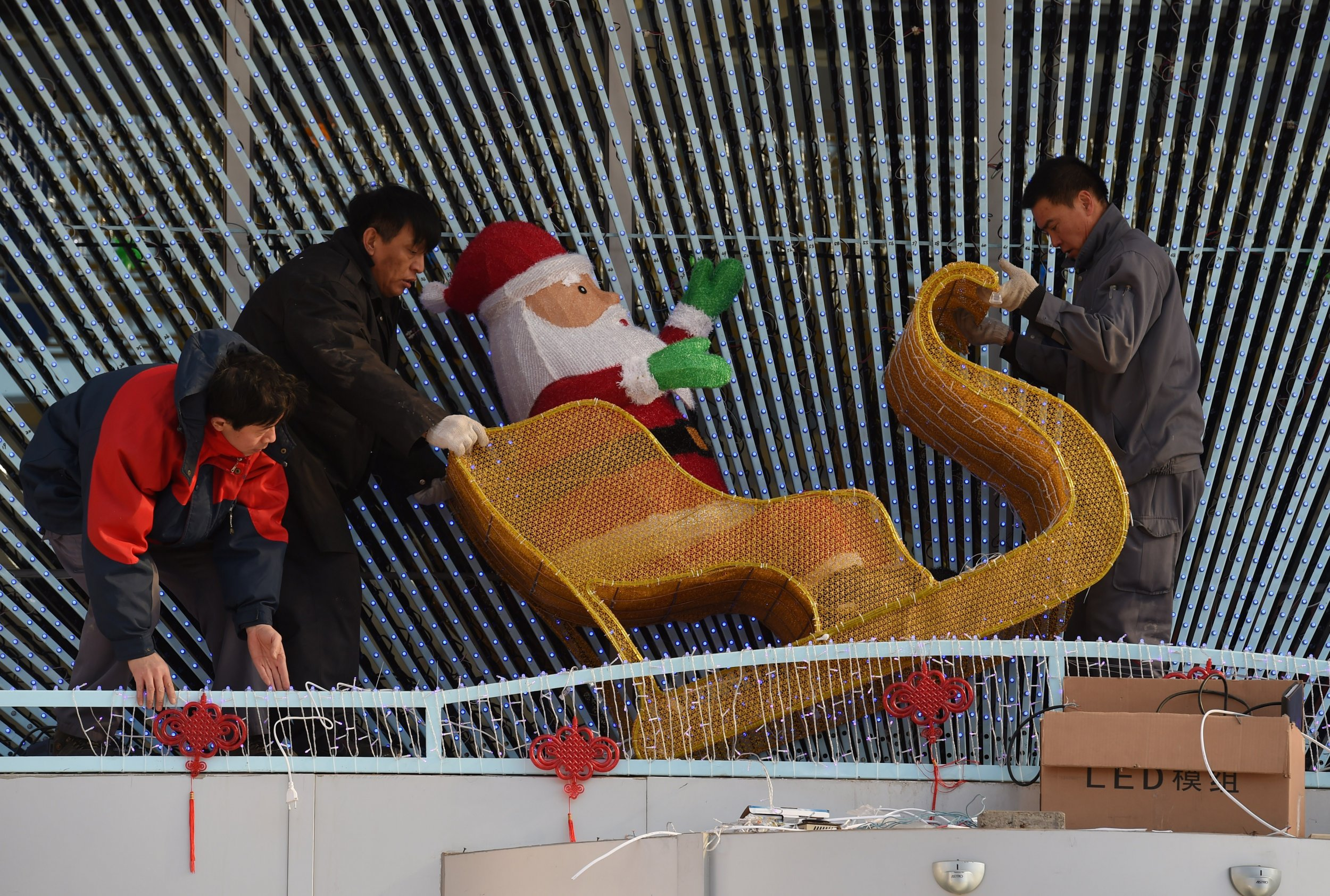 war on christmas, china, city, cancels,