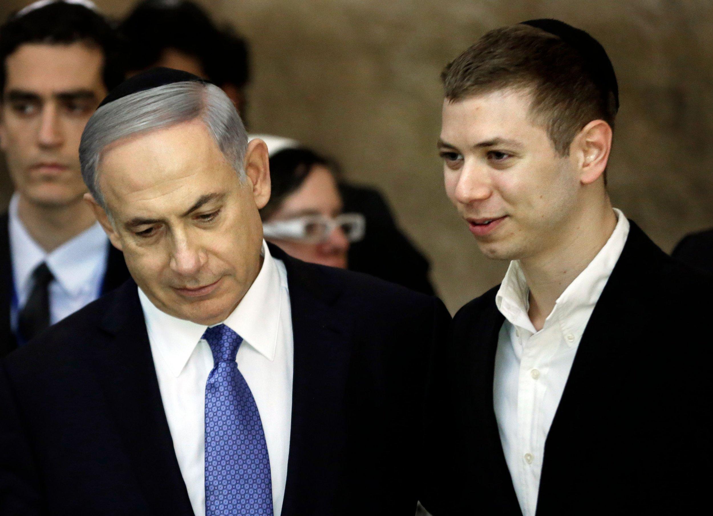 benjamin Netanyahu Yair Netanyahu