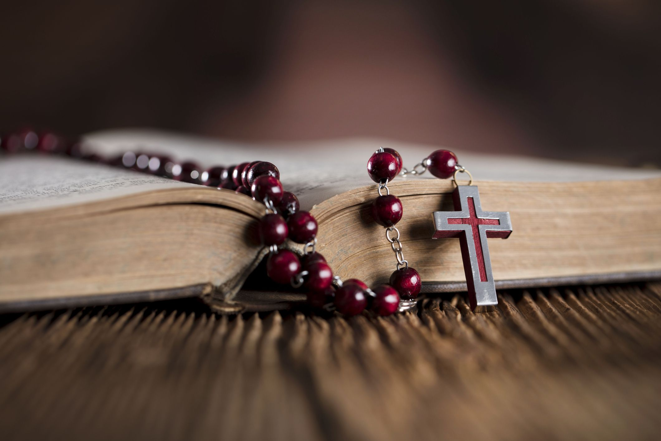 rosary beads stock getty