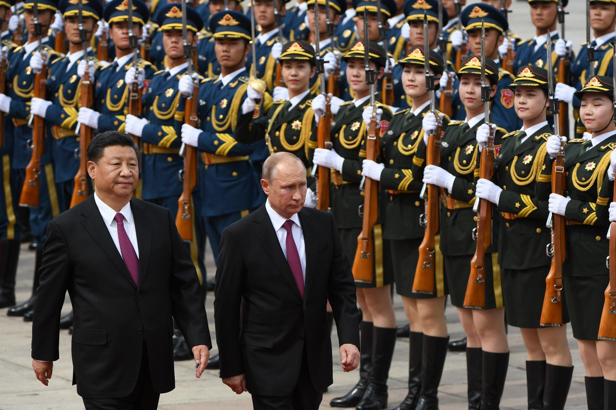 Vladimir Putin Xi Jinping China Russia