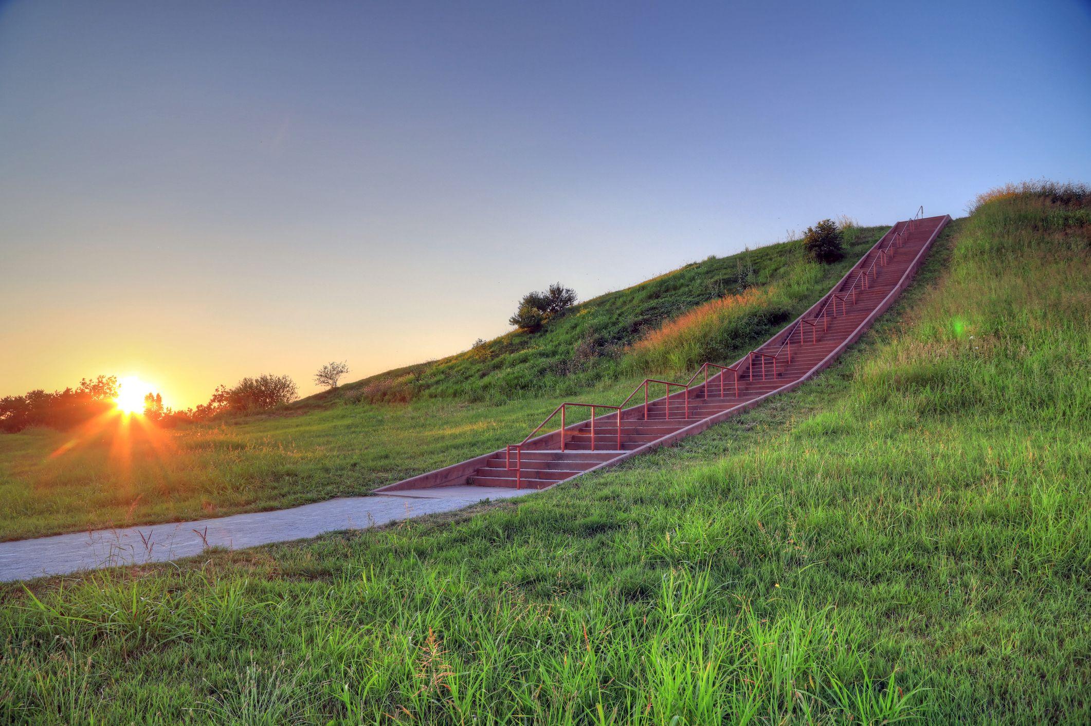 Cahokia mound