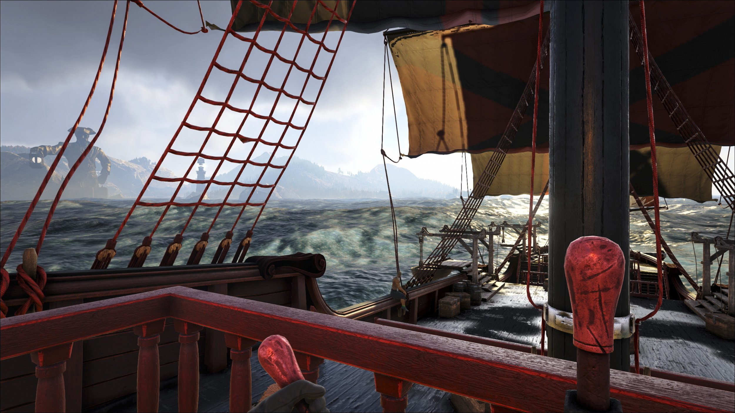 Atlas release time ship deck