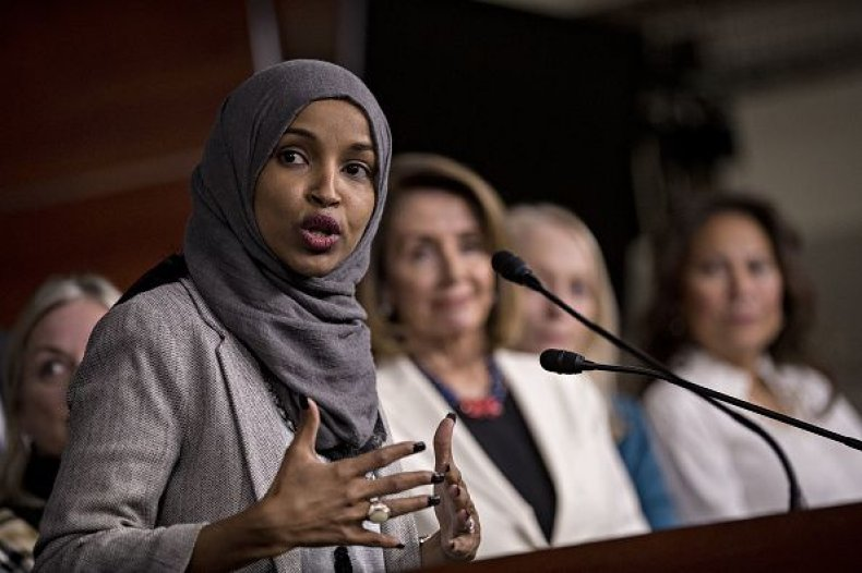 Rep.-elect Ilhan Omar news conference D.C.