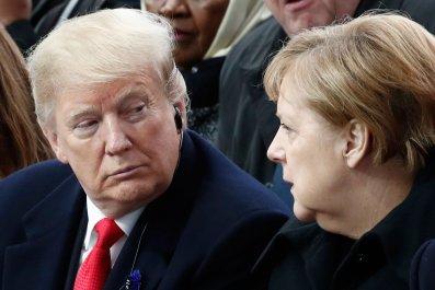 Donald Trump Angela Merkel Germany U.S. EU