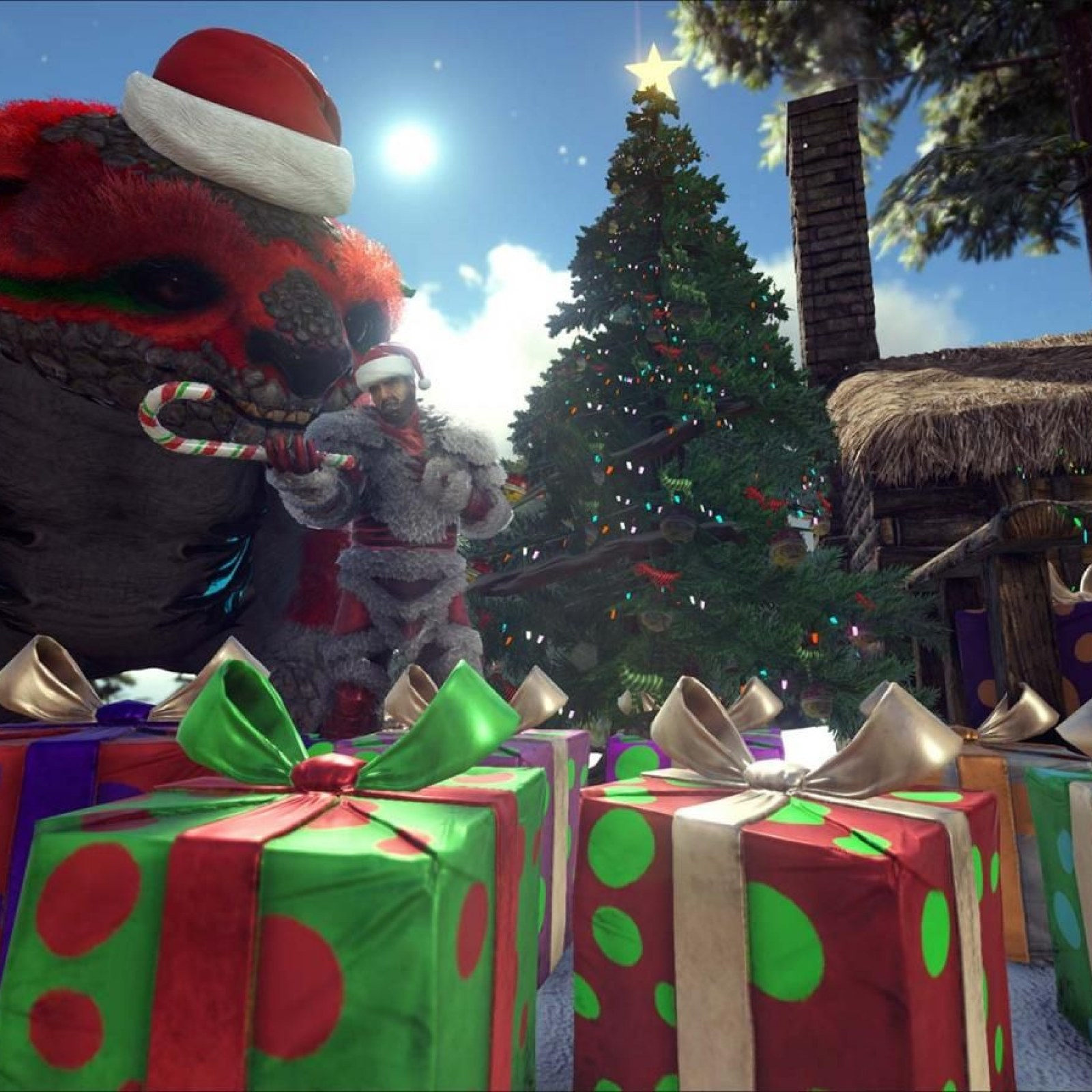 ARK' Update 1 84 Adds Winter Wonderland on PS4, Xbox & PC - Patch Notes