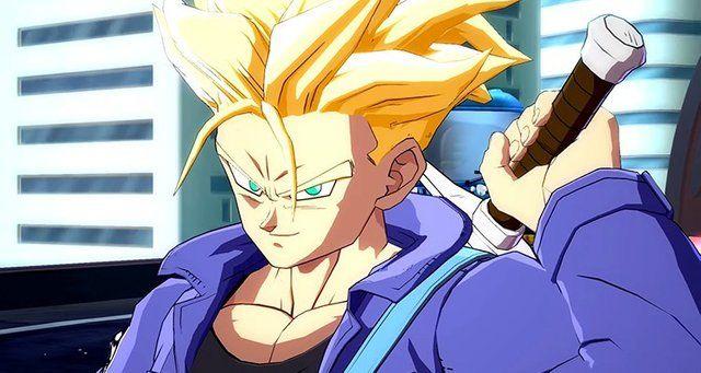Super_Trunks dragon ball fighterz