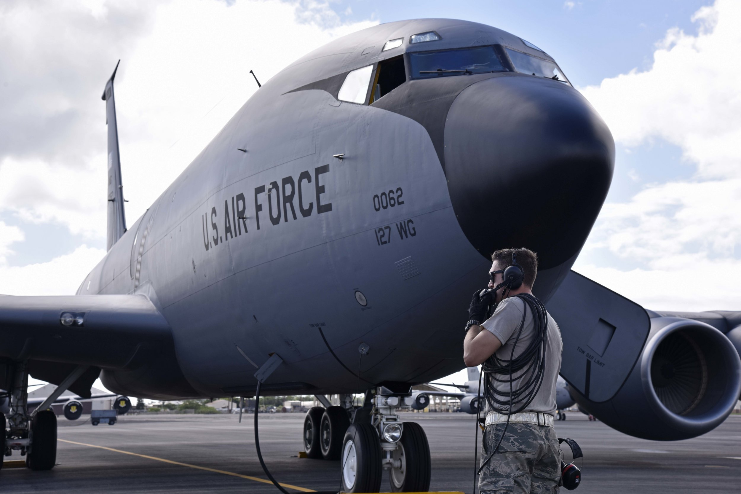 air force threat Selfridge Air National Guard Base michigan