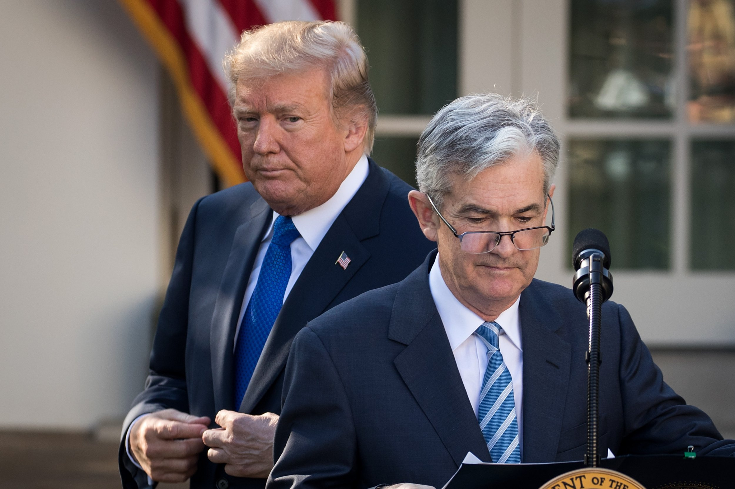 Donald Trump Fed Chairman Jerome Powell