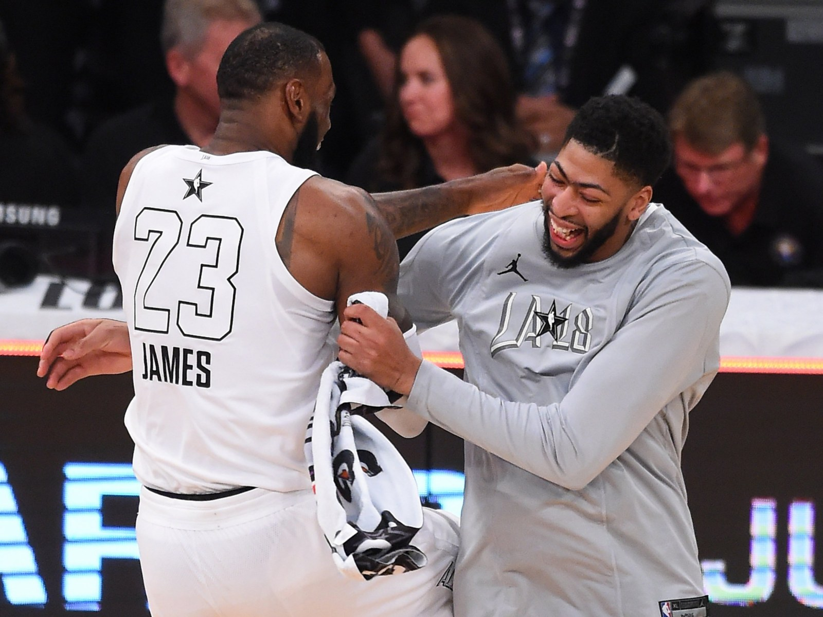 Lebron James Anthony Davis Lakers Acquisition Would Be