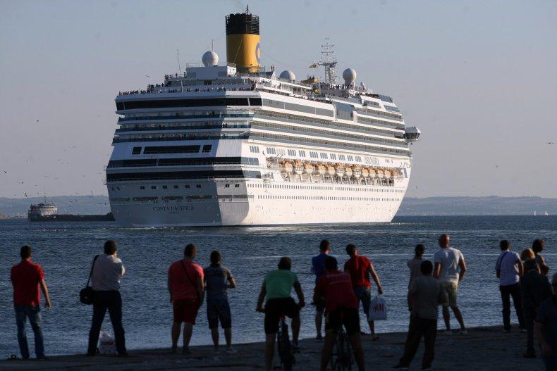 Cruise Ship Greece Thessaloniki