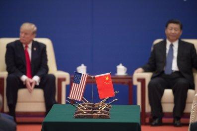 Donald Trump Xi Jinping China Beijing