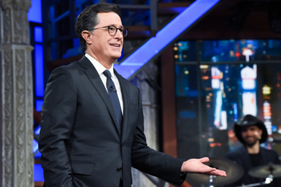 Colbert Accuses Trump of 'Witness Tampering'